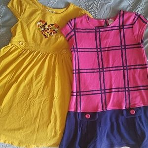 Gymboree Girls size 5 spring dresses